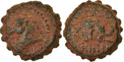 Ancient Coins - Coin, Seleukid Kingdom, Demetrios I Soter, Serrate Æ, 162-150 BC, Antioch