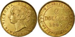 World Coins - Coin, NEWFOUNDLAND, Victoria, 2 Dollars, 1885, , Gold, KM:5