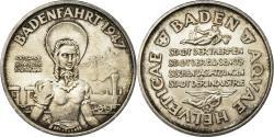 World Coins - Switzerland, Medal, Centenaire des Chemins de Fer, Baden, Railway, 1947