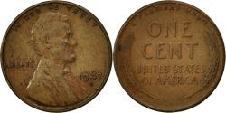 Us Coins - United States, Lincoln Cent, Cent, 1947, U.S. Mint, Denver, , Brass