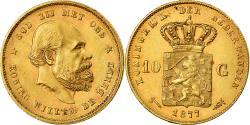Ancient Coins - Coin, Netherlands, William III, 10 Gulden, 1877, , Gold, KM:106