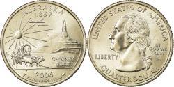 Us Coins - Coin, United States, Nebraska, Quarter, 2006, U.S. Mint, Philadelphia