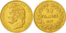 Ancient Coins - Coin, France, Louis-Philippe, 20 Francs, 1838, Paris, EF(40-45), Gold, KM:750.1
