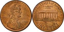 Us Coins - United States, Lincoln Cent, Cent, 2000, U.S. Mint, Denver, , Copper