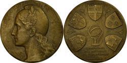 World Coins - France, Token, Compagnie des Notaires de la Marne, 1959, Cochet,