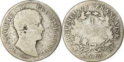 World Coins - Coin, France, Napoléon I, Franc, An 12, Strasbourg, Rare, , Silver