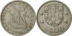 World Coins - Portugal, 5 Escudos, 1981, , Copper-nickel, KM:591