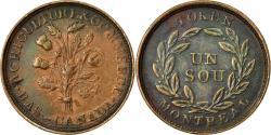 World Coins - Coin, Canada, LOWER CANADA, 1 Sou, 1835-38, , Copper