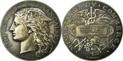 World Coins - France, Medal, Institut Commercial de Paris, Business & industry, 1887