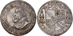 World Coins - Coin, FRENCH STATES, ALSACE, Charles II, Teston, 1604, , Silver