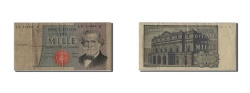 World Coins - Italy, 1000 Lire, 1980, KM #101g, 1980-09-06, VF(20-25), LD 114593 K