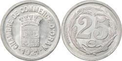 World Coins - Coin, Algeria, Chambre de Commerce, Oran, 25 Centimes, 1921, , Aluminium