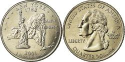Us Coins - Coin, United States, Quarter, 2001, U.S. Mint, Denver, , Copper-Nickel