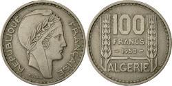 World Coins - Coin, Algeria, 100 Francs, 1950, Paris, , Copper-nickel, KM:93