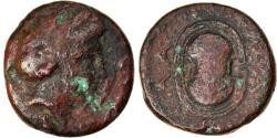 Ancient Coins - Coin, Islands off Attica, Salamis, Bronze Æ, 4th century BC, , Bronze