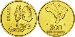 World Coins - Coin, Brazil, 300 Cruzeiros, 1972, Paris, ESSAI, , Brass, KM:Pr7