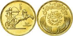World Coins - Coin, Egypt, Pound, 1955, , Gold, KM:387