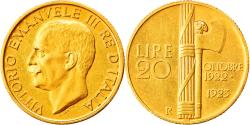 World Coins - Coin, Italy, Vittorio Emanuele III, 20 Lire, 1923, Rome, , Gold, KM:64