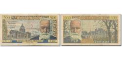 World Coins - France, 5 Nouveaux Francs on 500 Francs, Victor Hugo, 1959, 1959-02-12