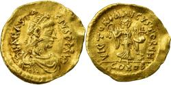 Coin, Anastasius I, Tremissis, 491-518 AD, Constantinople, , Gold