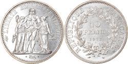 World Coins - Coin, France, Hercule, 10 Francs, 1973, Paris, MS(63), Silver, KM:932