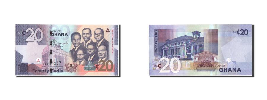 World Coins - Ghana, 20 Cedis, 2015, 1.7.2015, KM:40, UNC