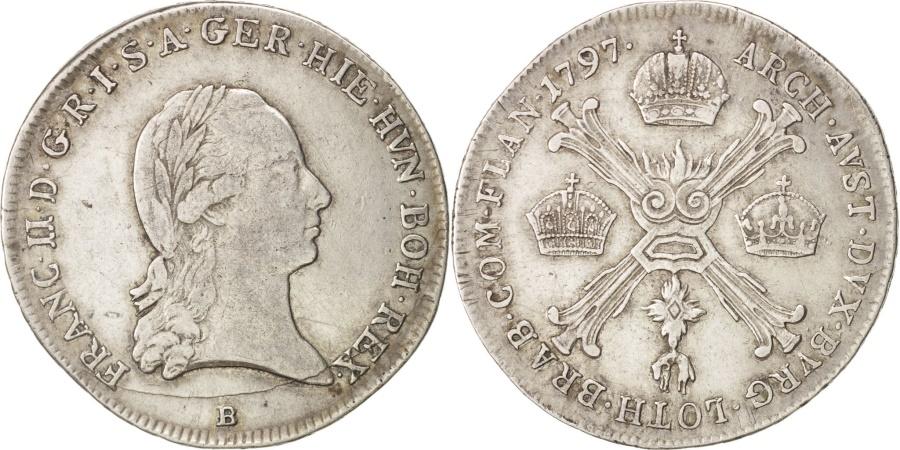World Coins - Austria, Franz II (I), 20 Kreuzer, 1787, , Silver, KM:2139