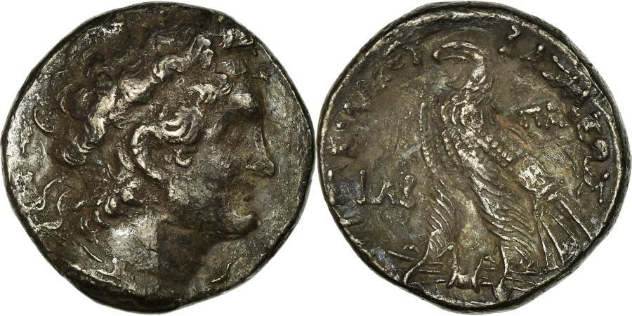Ancient Coins - Coin, Egypt, Ptolemy VI, Tetradrachm, 150-149 BC, , Silver, SNG-Cop:299
