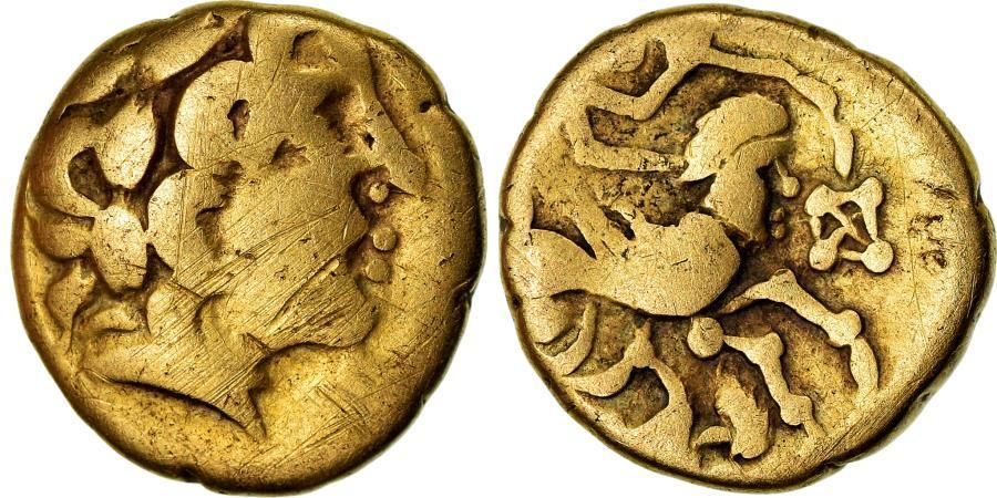 Ancient Coins - Coin, Aulerci Cenomani, 1/4 Stater, , Gold, Delestrée:2156