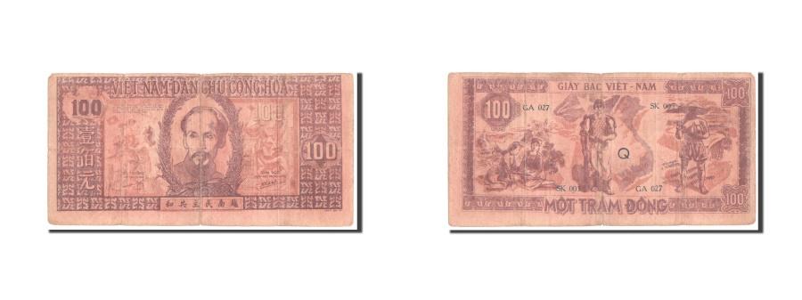 World Coins - Viet Nam, 100 Dng, 1948, KM #28c, VF(20-25), Q