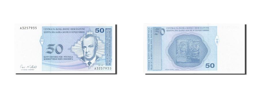 World Coins - Bosnia - Herzegovina, 50 Convertible Pfeniga, 1998, KM:57a, UNC(65-70)