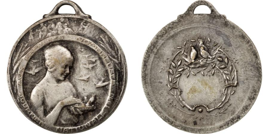 World Coins - FRANCE, Politics, Society, War, French Third Republic, Medal, ,...