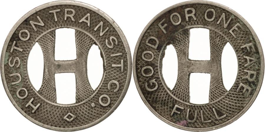 US Coins - United States, Token, Houston Transit Company