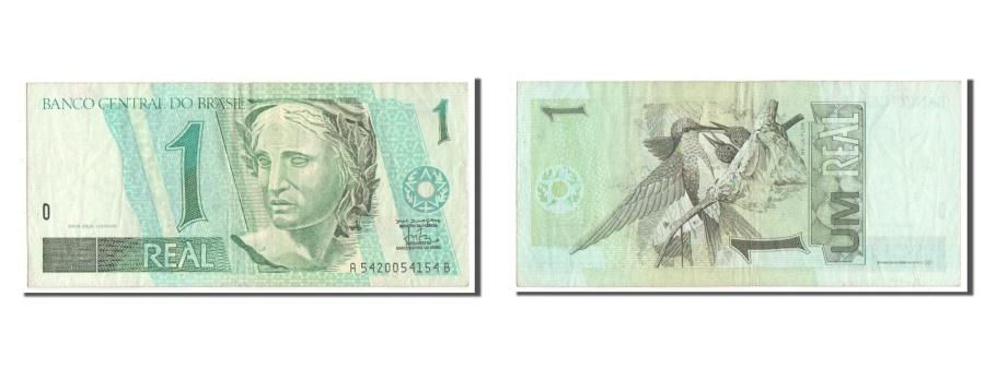 World Coins - Brazil, 1 Real, KM #243Ab, EF(40-45), A5420054154B