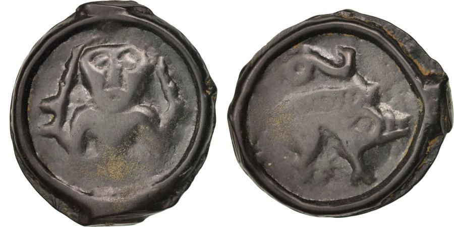 Ancient Coins - Remi, Potin unit, , Potin, Delestré:220