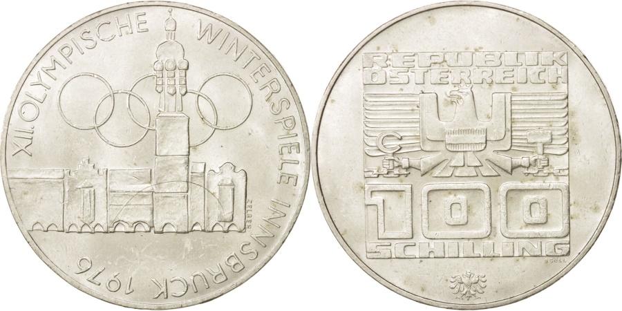 World Coins - Austria, 100 Schilling, 1976, Vienna, , Silver, KM:2927