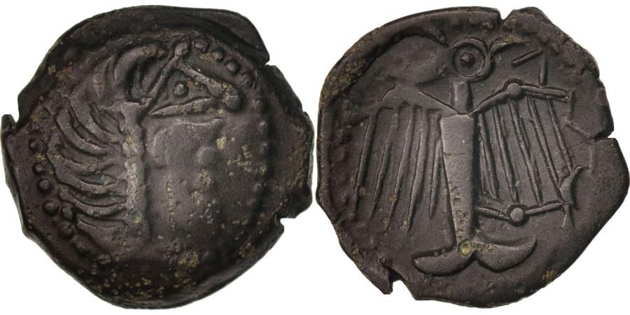Ancient Coins - Carnutes, Bronze à l'aigle et à la rouelle, , Bronze, Delestrée:2580