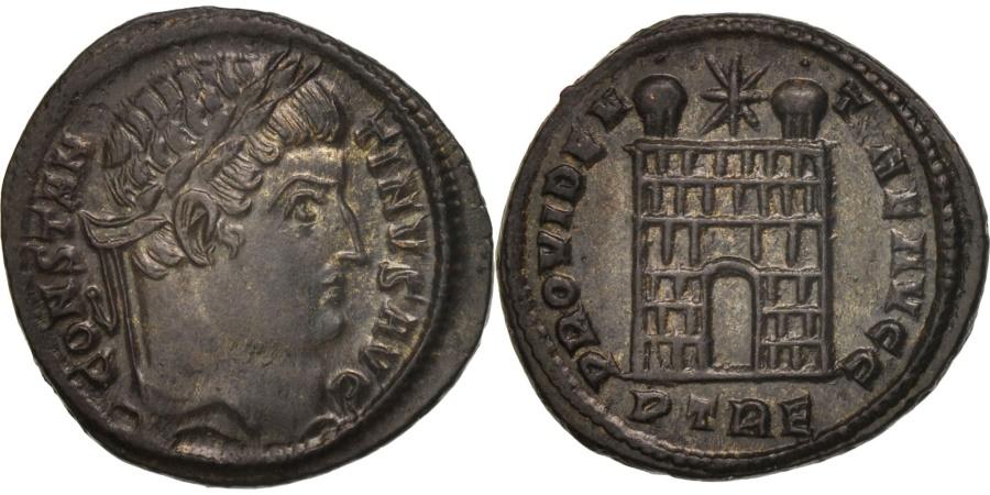 Ancient Coins - Constantine I, Follis, Trier, , Bronze, RIC:504