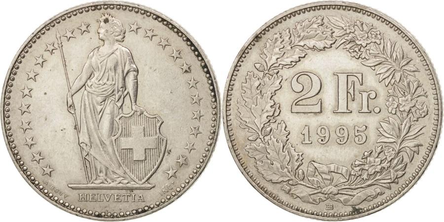 World Coins - Switzerland, 2 Francs, 1995, Bern, , Copper-nickel, KM:21a.3