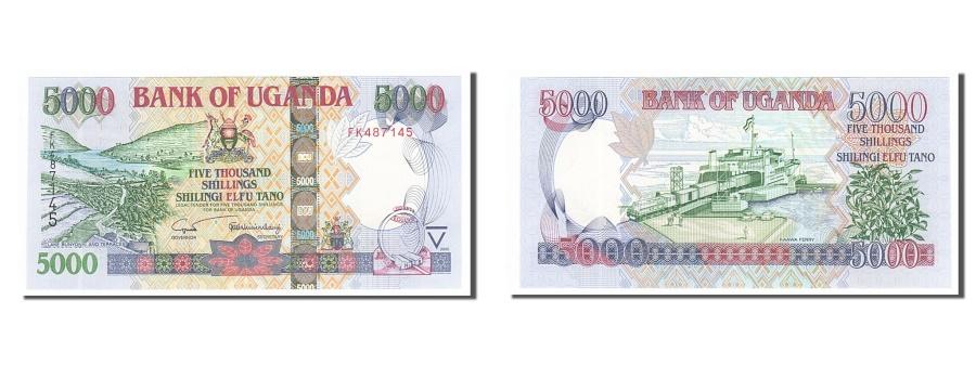 World Coins - Uganda, 5000 Shillings, 2005, KM #44b, UNC(65-70), FK487145