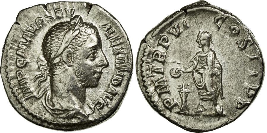 Ancient Coins - Coin, Alexander, Denarius, Roma, AU(50-53), Silver, Cohen:325