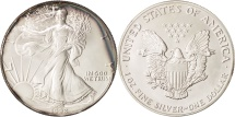 Us Coins - United States, Dollar, 1992, U.S. Mint, Philadelphia, MS(65-70), Silver, KM:273