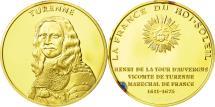 World Coins - France, Medal, Turenne, MS(63), Vermeil