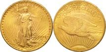 Us Coins - United States, Saint-Gaudens, $20,1924, Philadelphia,(AU50-53),KM 131