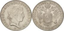 World Coins - Austria, Ferdinand I, 20 Kreuzer, 1848, Vienne, MS(63), Silver, KM:2208