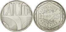 World Coins - France, 25 Euro, Laicité, 2013, MS(63), Silver