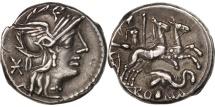 Caecilia, Denarius, Rome, AU(55-58), Silver, Crawford:262/1