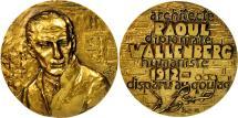 World Coins - France, Medal, Raoul Wallenberg, MS(63), Bronze