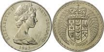 World Coins - New Zealand, Elizabeth II, Dollar, 1967, MS(63), Copper-nickel, KM:38.1