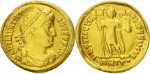 Ancient Coins - Valentinian I, Solidus, Antioch, VF(30-35), Gold, RIC:2a-xiii